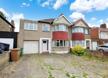 Thumbnail 4 bed semi-detached house for sale in Okehampton Crescent, Welling, Kent