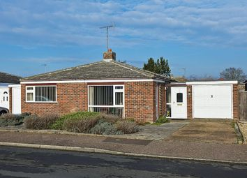 Thumbnail 2 bed detached bungalow for sale in Norman Close, Old Felixstowe, Felixstowe