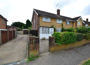 Thumbnail 3 bedroom semi-detached house for sale in The Ridgeway, Horley