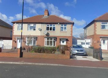 Thumbnail 3 bed semi-detached house for sale in Duchess Drive, Newcastle Upon Tyne