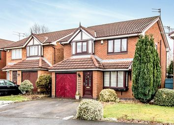 Thumbnail 4 bedroom detached house for sale in Tytherington Drive, Manchester