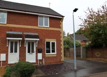Thumbnail 2 bed end terrace house to rent in Farriers Court, Orton Longueville, Peterborough