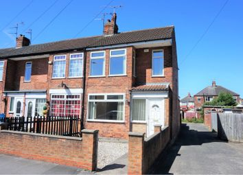 Thumbnail 2 bed end terrace house for sale in Eastfield Road, Hull