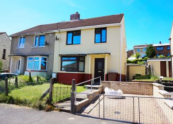 Thumbnail 3 bed semi-detached house for sale in Mount Pleasant, Bargoed