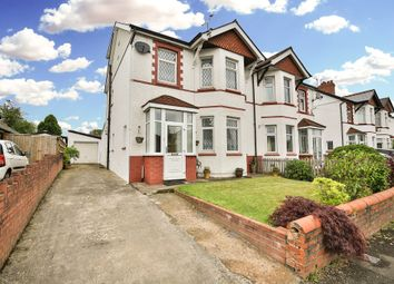 Thumbnail 4 bed semi-detached house for sale in Rhydypenau Road, Cyncoed, Cardiff