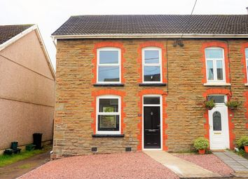 Thumbnail 2 bed semi-detached house for sale in Rhiw Road, Rhiwfawr