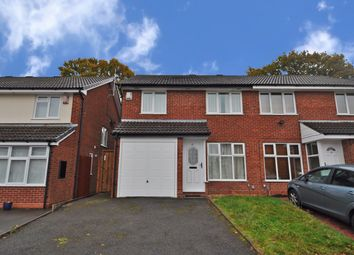 Thumbnail 3 bed semi-detached house for sale in Farfield Close, Northfield, Birmingham