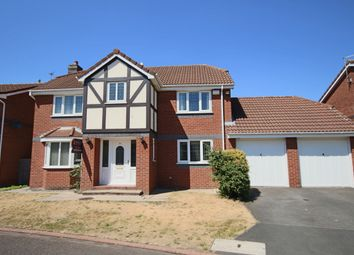Thumbnail 4 bed detached house to rent in Whitebeam Close, Penwortham, Preston