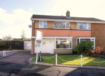 Thumbnail 3 bed semi-detached house for sale in Norwood Road, Newcastle Upon Tyne