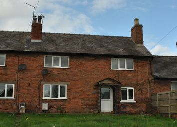 Thumbnail 3 bedroom terraced house to rent in Grindley Brook, Whitchurch, Shropshire