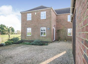 Thumbnail 4 bed detached house for sale in Delph Road, Branston Booths, Lincoln