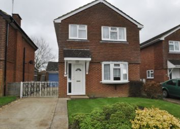 Thumbnail 3 bed detached house to rent in Highfield Road, Willesborough, Ashford