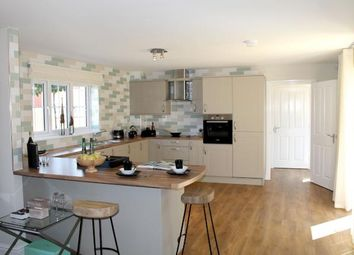 Thumbnail 5 bedroom terraced house for sale in Rockingham Gate, Priors Hall Park, Weldon, Corby