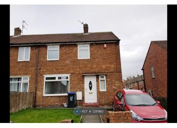 Thumbnail 2 bedroom semi-detached house to rent in Larch Avenue, Shildon