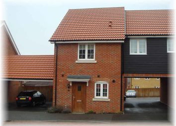 Thumbnail 2 bed link-detached house for sale in Kittiwake Court, Stowmarket