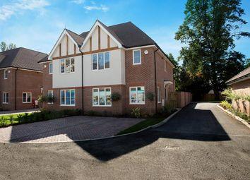 Thumbnail 3 bed semi-detached house for sale in Pavilion Park, Hurst Lane, East Molesey, Surrey
