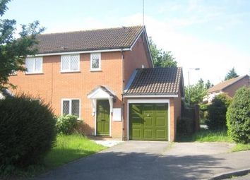 Thumbnail 2 bed semi-detached house to rent in Doddington Close, Lower Earley, Reading