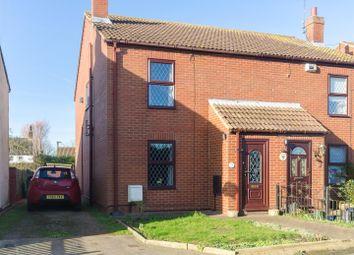Thumbnail 3 bed semi-detached house for sale in Back Lane, Patrington Haven, Patrington, Hull