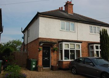 Thumbnail 2 bed semi-detached house to rent in Barrow Road, Quorn