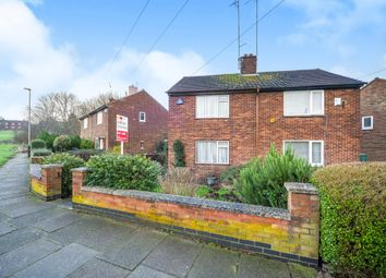Thumbnail 2 bedroom semi-detached house for sale in Beaumont Leys Close, Leicester