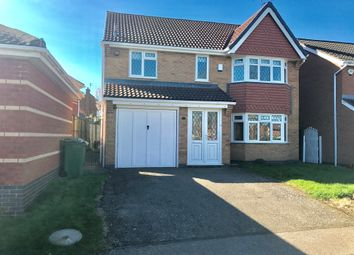 Thumbnail 4 bed detached house for sale in Rose Crescent, Leicester Forest East, Leicester