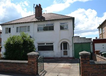 Thumbnail 3 bed semi-detached house for sale in Bromborough Village Road, Bromborough, Wirral