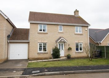 Thumbnail 3 bed link-detached house for sale in Rowan Close, Haddenham, Ely