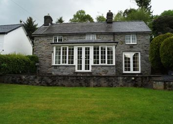 Thumbnail 3 bed detached house to rent in Aberangell, Machynlleth