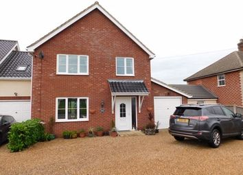 Thumbnail 3 bed link-detached house for sale in Stowmarket Road, Old Newton, Stowmarket