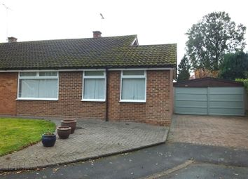 Thumbnail 3 bed semi-detached bungalow for sale in Walford Road, Rolleston On Dove, Burton On Trent