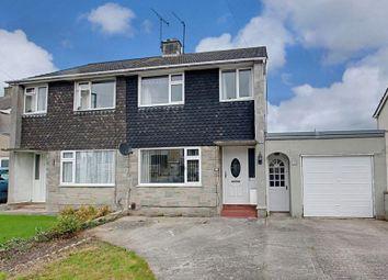 Thumbnail 3 bed semi-detached house for sale in White Horse Close, Trowbridge