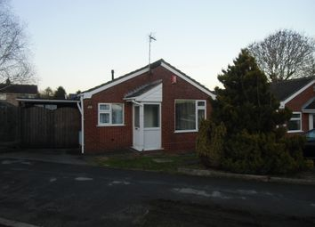 Thumbnail 2 bed bungalow to rent in Dane Hill, Leicester