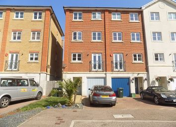 Thumbnail 4 bed terraced house for sale in Barbuda Quay, Eastbourne