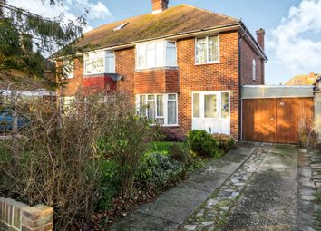 Thumbnail 3 bed semi-detached house for sale in The Strand, Goring-By-Sea, Worthing