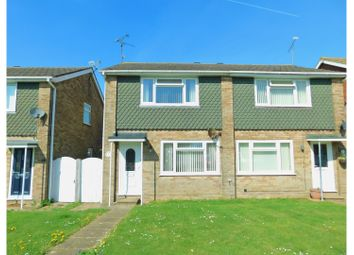 Thumbnail 2 bed semi-detached house for sale in Truleigh Road, Steyning