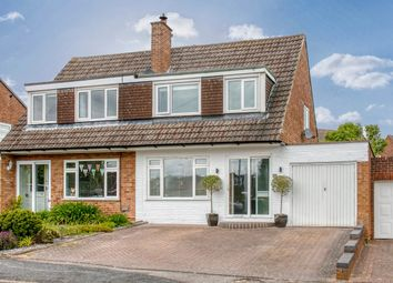 Thumbnail 3 bed semi-detached house for sale in Alcester Road, Lickey End, Bromsgrove