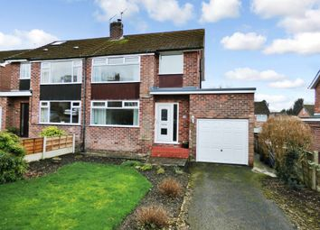 Thumbnail 3 bed semi-detached house for sale in Grasmere Crescent, High Lane, Stockport