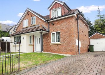 Thumbnail 3 bed detached house for sale in Dingle Close, Romiley, Stockport