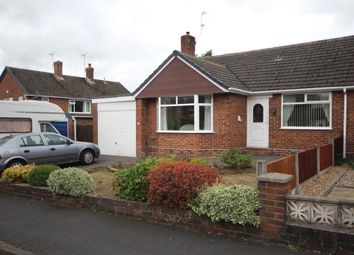 Thumbnail 2 bed semi-detached bungalow for sale in Chestnut Crescent, Blythe Bridge, Stoke-On-Trent