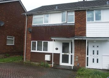 Thumbnail 3 bed semi-detached house to rent in Winchcombe Road, Basingstoke