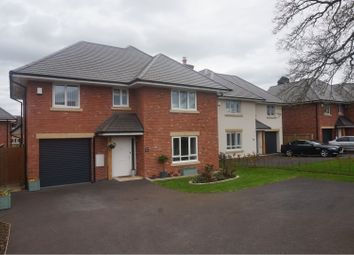 Thumbnail 4 bed detached house for sale in Morda Bank, Oswestry