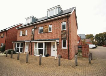 Thumbnail 3 bed semi-detached house for sale in Brunswick Place, Totton, Southampton
