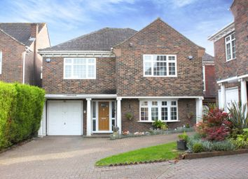 Thumbnail 4 bed detached house for sale in Westfield, Loughton