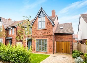 Thumbnail 4 bedroom detached house for sale in Edward Price Close, Parkgate, Neston