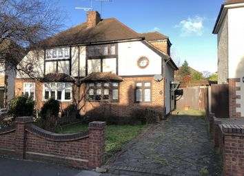 Thumbnail 3 bed semi-detached house for sale in Harold Court Road, Harold Wood, Romford