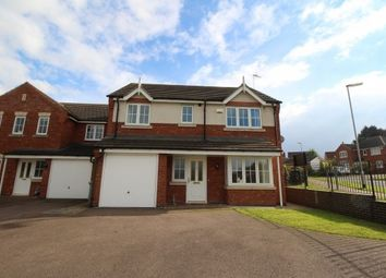 Thumbnail 4 bed detached house to rent in Carnoustie Close, Grantham