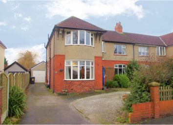 Thumbnail 4 bed semi-detached house for sale in Cookridge Lane, Leeds