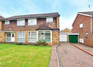 Thumbnail 3 bed semi-detached house for sale in High Road, Leavesden, Watford