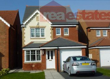 Thumbnail 4 bed detached house to rent in Ferguson Court, Bishop Auckland
