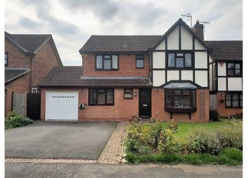 Thumbnail 4 bed detached house for sale in Drayton Close, Bidford On Avon